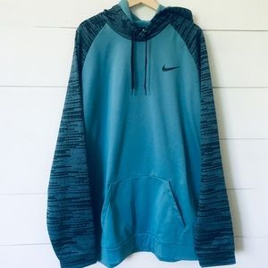 NIKE Pullover Training Hoodie Dri Fit Therma 4XLT